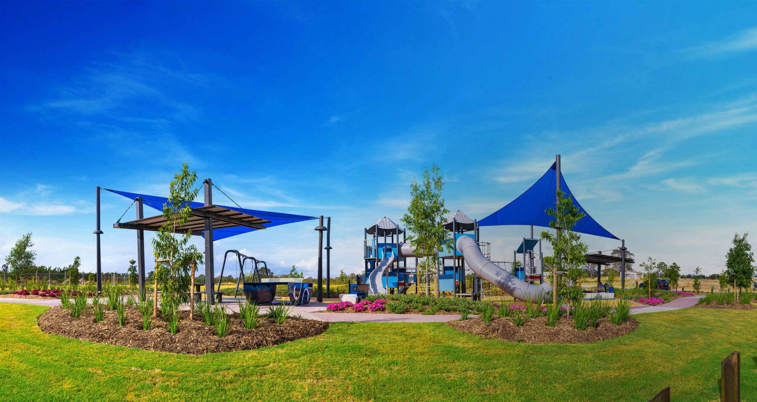 Panoramic Image of Amity Park