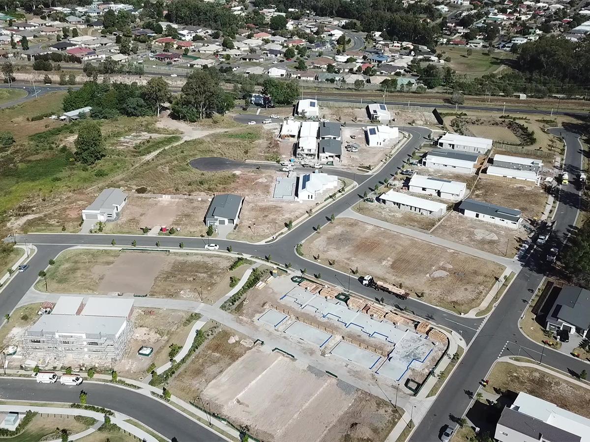 Construction Update Amity Narangba May 2020
